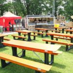 GT Trax picnic benches