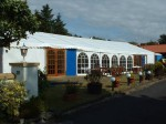 Clearspan wedding marquee
