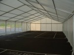 Empty clearspan marquee - a blank canvas