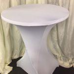 Poseur tables large