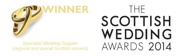 Scottish Wedding Awards 2014 (Regional and overall Scottish winners)